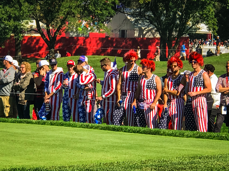ryder cup tournament atmosphere
