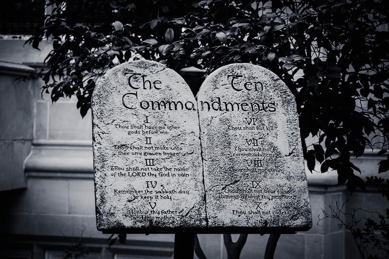 ten commandments jackson mississippi