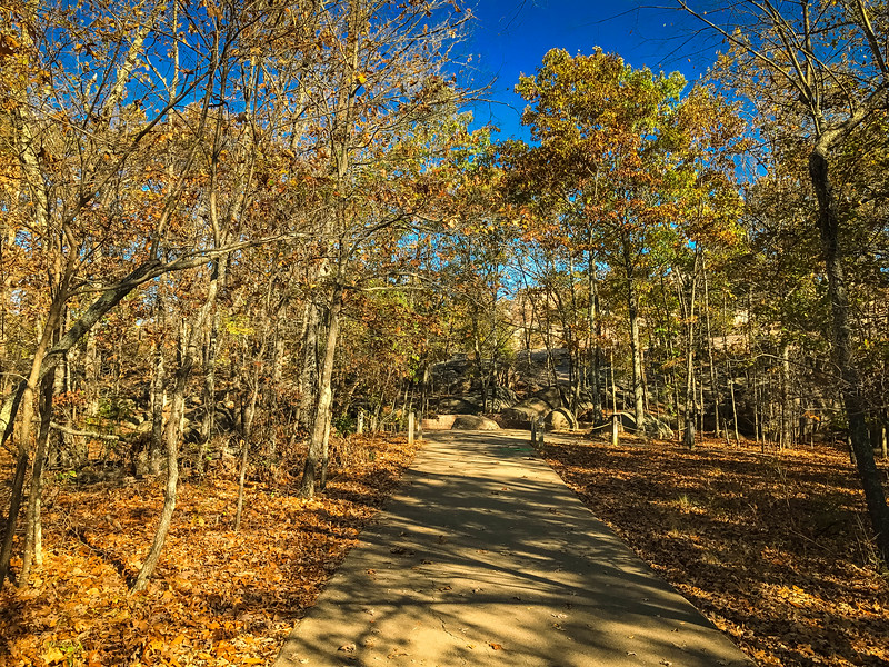 braille trail at elephant rocks state park