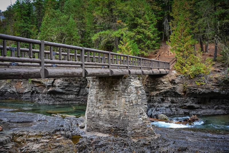 sacred dancing cascades glacier national park