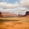 Sentinal Mesa and West Mitten, Monument Valley