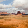 Artist point, Monument Valley