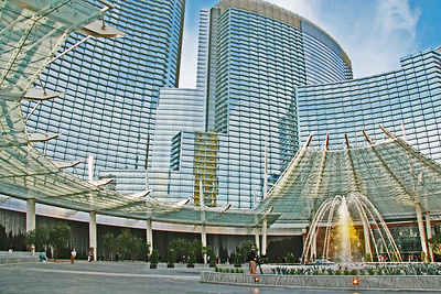 The Aria, part of the new so-called City Center. The ever changing look of Las Vegas