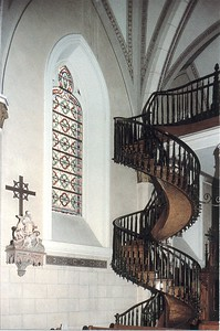 Santa Fe - Loretto Chapel Spiral Staircase