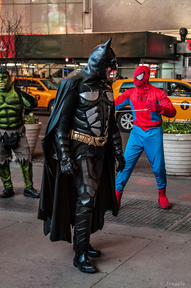Batman & Spidey