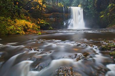 Lower South Angel Falls, Oregon