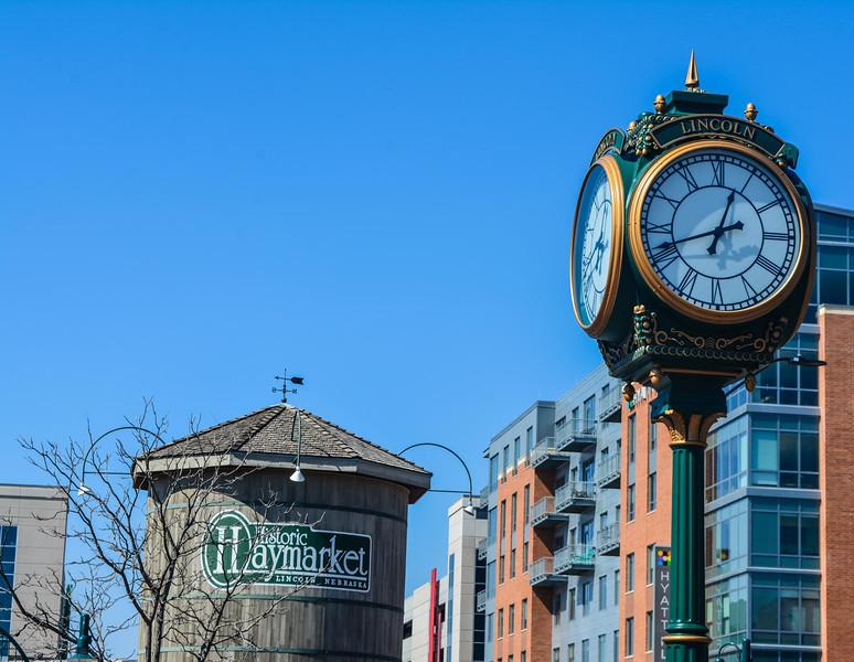 iron horse park clock haymarket district