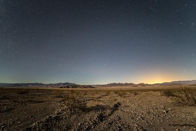 Las Vegas light pollution