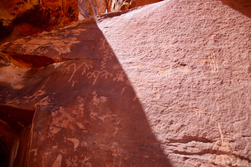 Petroglyphs - Valley of Fire State Park