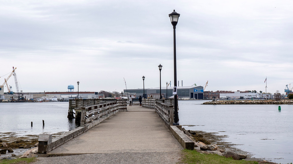 Boardwalk at Prescott Park in Portsmouth NH - Portsmouth Attractions