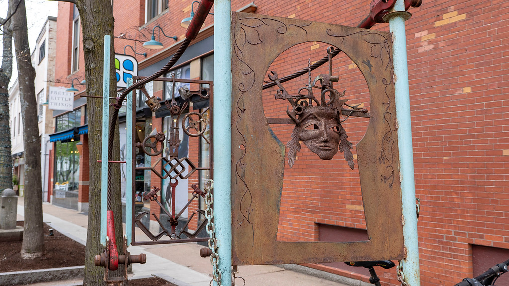Outdoor art - public art in Portsmouth NH