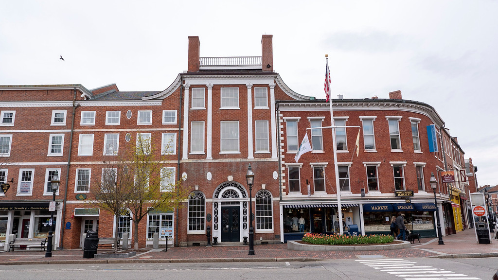 Historic architecture of Portsmouth New Hampshire