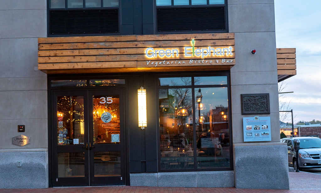 Green Elephant Vegetarian Bistro in Portsmouth New Hampshire