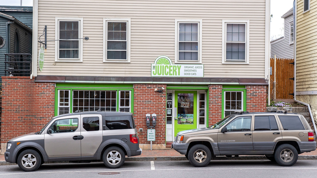 The Juicery in downtown Portsmouth NH.