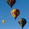 Balloons take flight