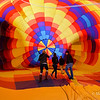 Before the ascension at Albuquerque Balloon Fiesta