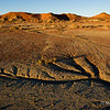Bisti at sunset