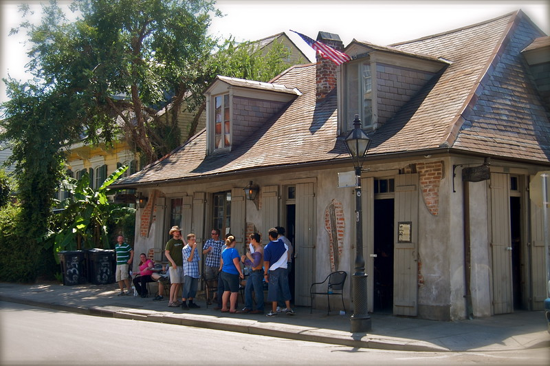 Oldest bar in the French Quarter