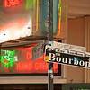 Bourbon Street Sign, French Quarter, New Orleans, Louisiana