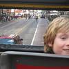 Jack riding the bus