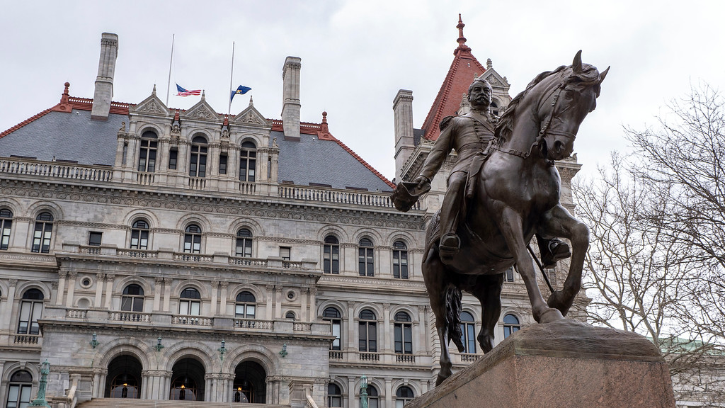 Weekend in Albany - New York State Capitol Building
