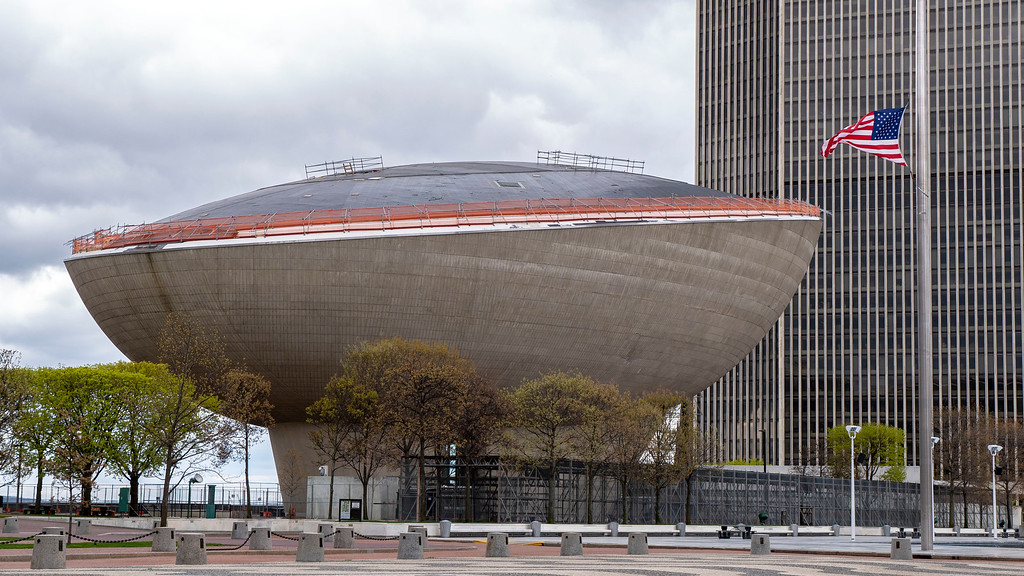 Albany Attractions - The Egg - Albany NY