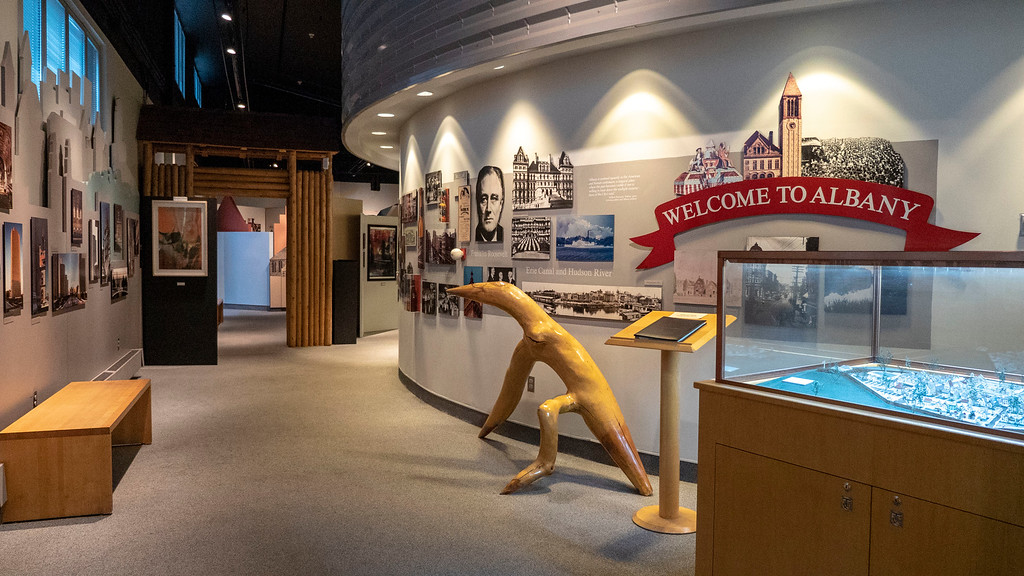 Discover Albany Visitors Center Permanent Exhibit