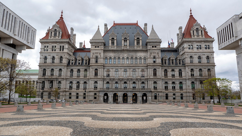 New York State Capitol Building in Albany, NY
