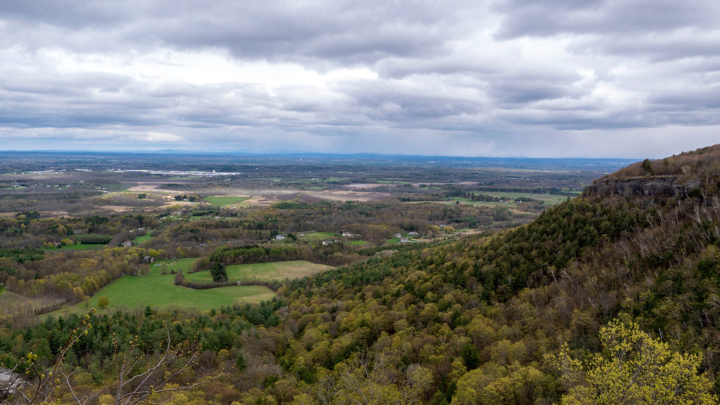 John Boyd Thacher State Park Overlook Scenery - Albany NY