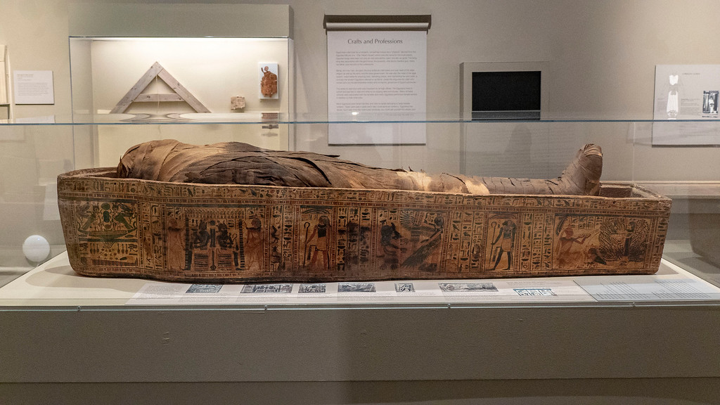 Albany Institute of History and Art - Ancient Egypt Mummy