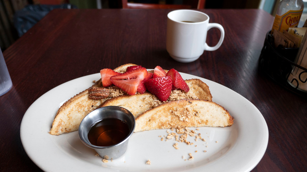 Iron Gate Cafe in Albany - Vegan French Toast