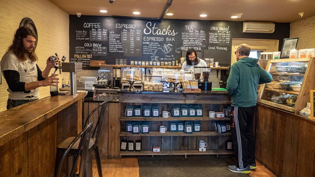 Stacks Espresso Bar in Albany, NY