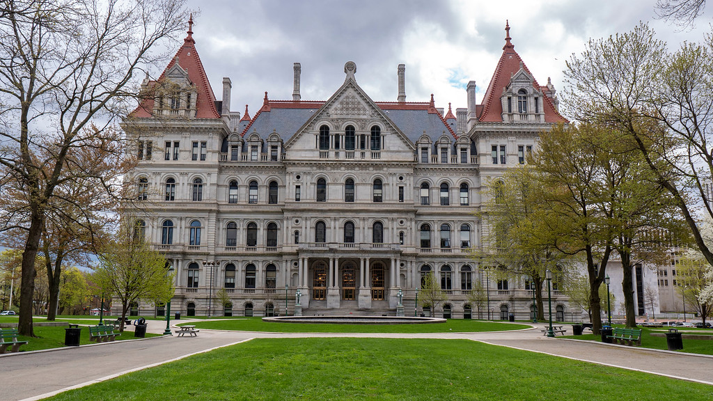 2 days in Albany NY - New York State Capitol Building