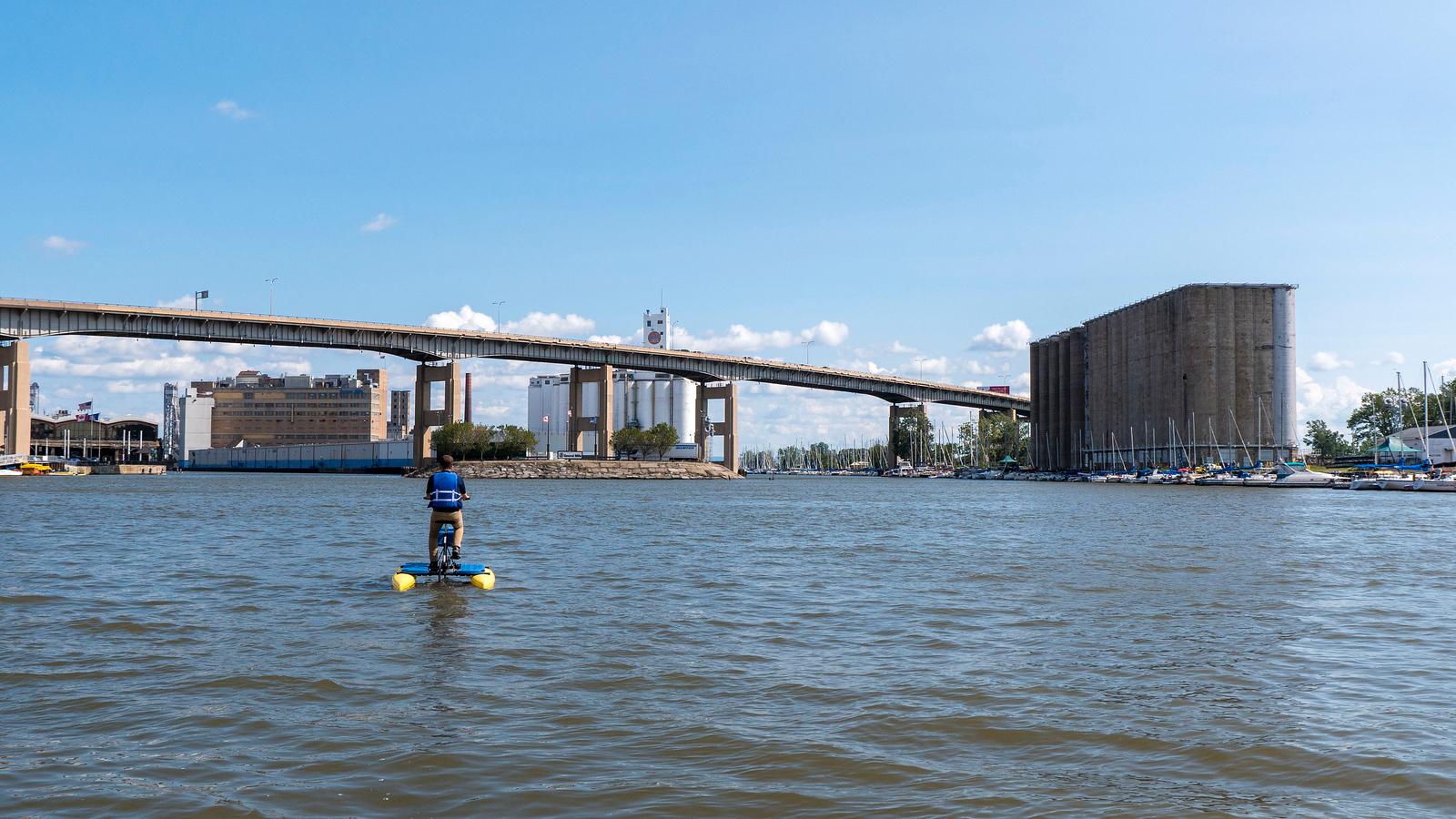 Water bikes of Buffalo - Fun things to do in Buffalo NY