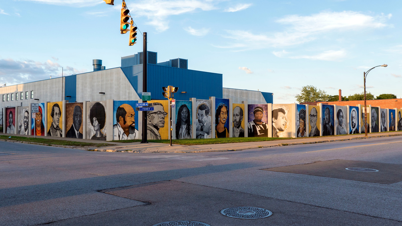 Where to Find Street Art in Buffalo and Niagara Falls, NY - Freedom Wall