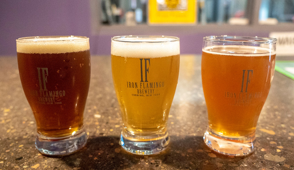Iron Flamingo Brewery - Finger Lakes breweries