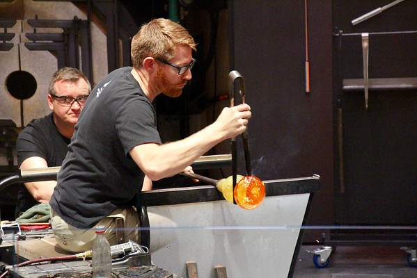 Glassblowing Demonstration - Corning Museum of Glass
