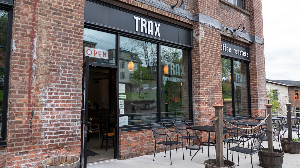 Trax coffee in Beacon New York