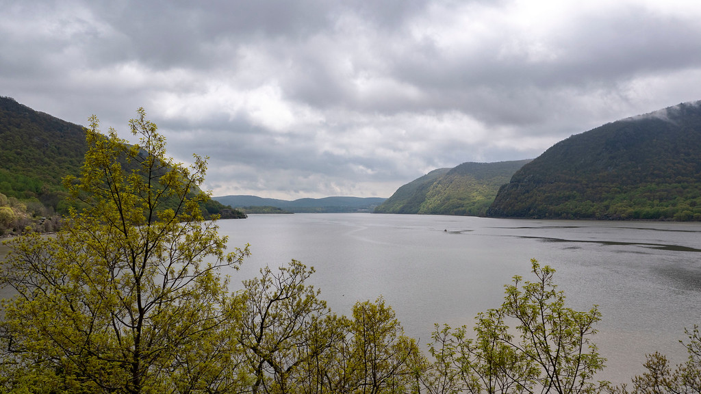 Dutchess County Itinerary: View of the Hudson River