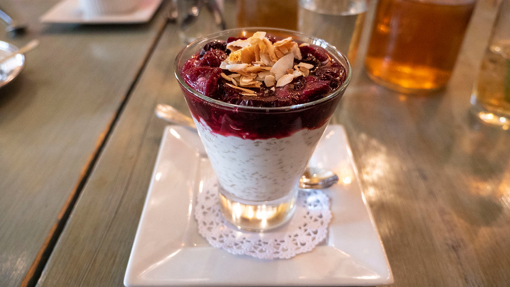 Hudson Valley Vegan: Vegan Rice Pudding at Harney & Sons Tea Room