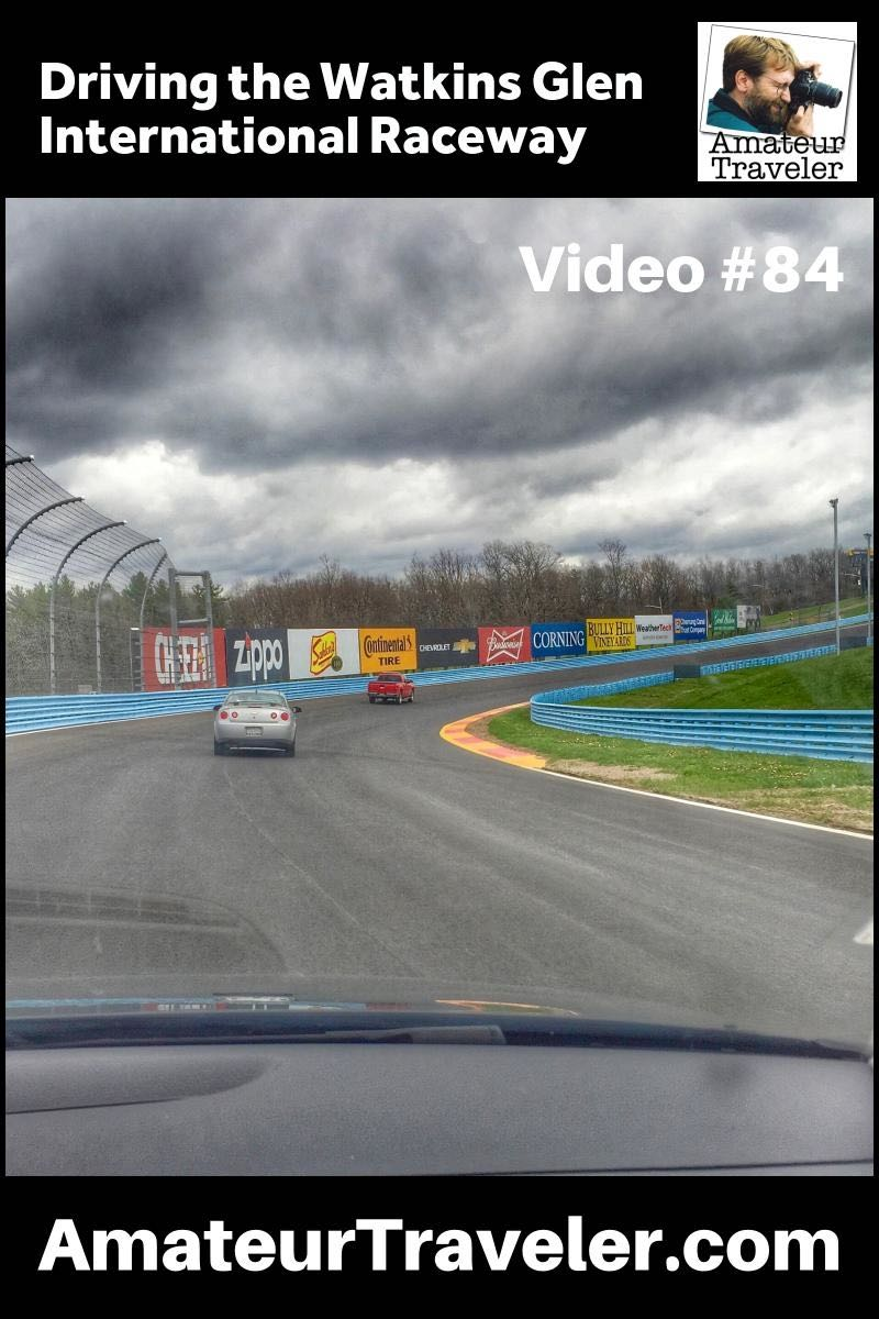 Driving the Watkins Glen International Raceway