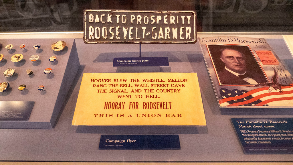 FDR Presidential Library and Museum in Hudson Valley