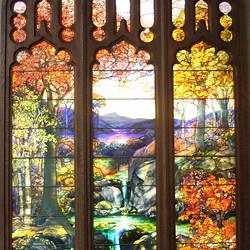 Tiffany Window - The Metopolitan Museum of Art - New York City