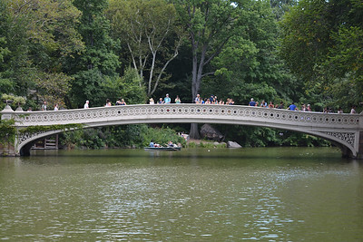 Bow Bridge crossing the Boating Lake 2