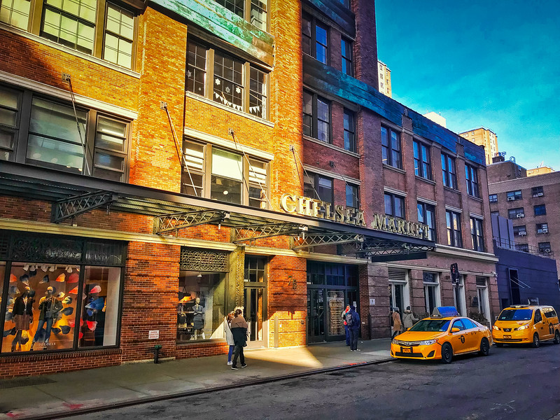 chelsea market new york city
