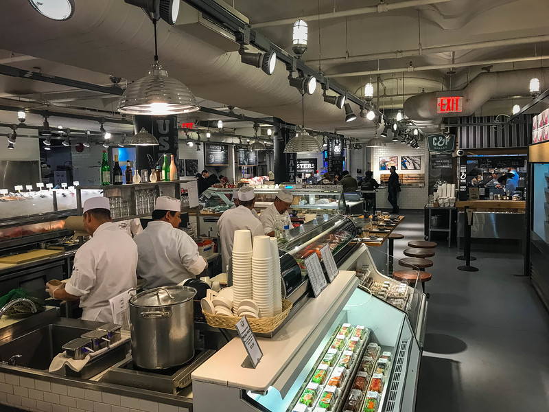 the lobster place chelsea market