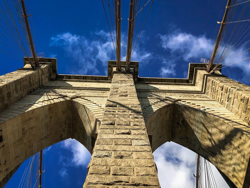brooklyn bridge cable suspension bridge