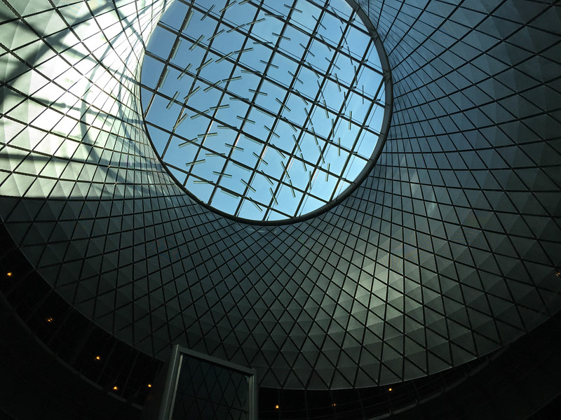 fulton center sky reflector net