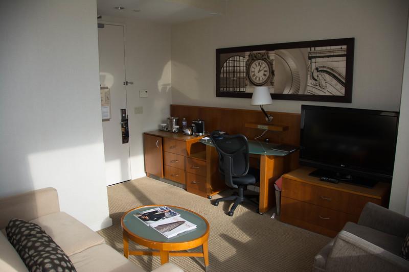 millennium hilton suite