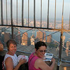 New York: Joan and Alicia Todaro on top of Empire State building